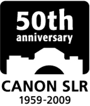 logo slr 50th2 - Canon 50th Anniversary of the SLR