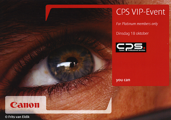 CPS Event on October 18 in The Netherlands