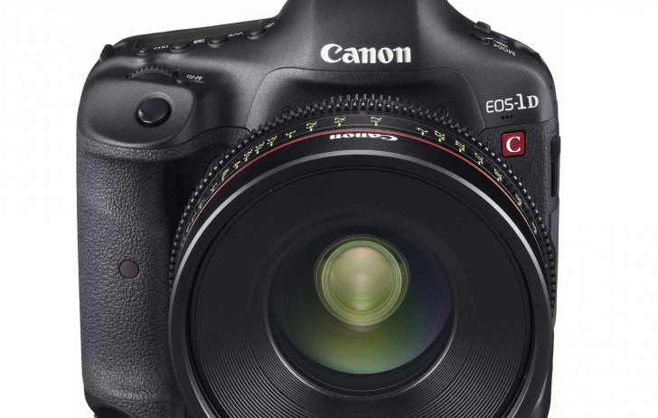 World's First EOS-1D C Motion Image Shoot