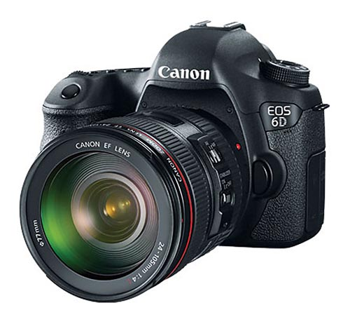 Canon EOS 6D Body Deal & EF 24-105 f/4L IS Deal