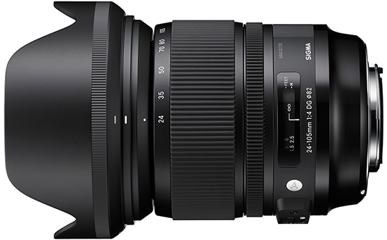 Sigma 24-105 f/4 DG OS Gets its Price