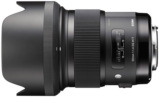 Sigma 50mm f/1.4 Art for Canon Coming in April? [CR1]