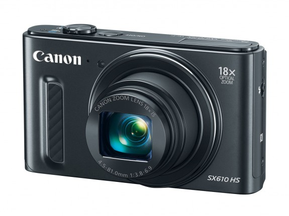 SX610HS 575x431 - Five New PowerShot Digital Cameras From Canon U.S.A. Offer Functionality, Portability And Precision For Clear, Beautiful Photos And HD Video