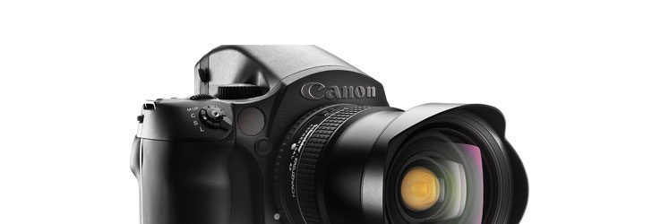 Canon Medium Format Talk, It's Not in the Works
