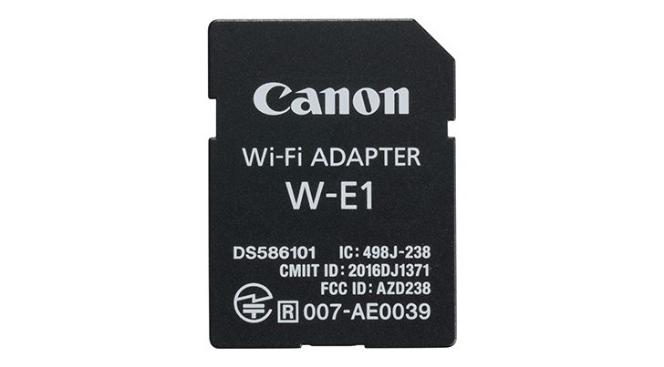 Stock Notice: Canon W-E1 Wifi Adaptor at B&H Photo