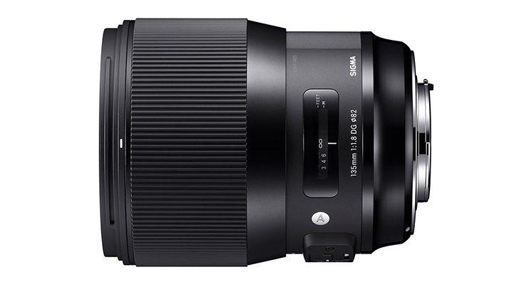 Sigma 135mm f/1.8 DG Art Series Lens Shipping on April 7?