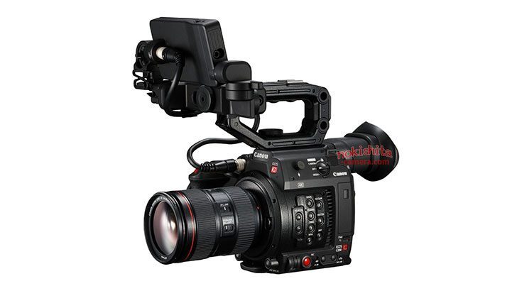 Canon Cinema EOS C200 Pics Leak Ahead of Announcement