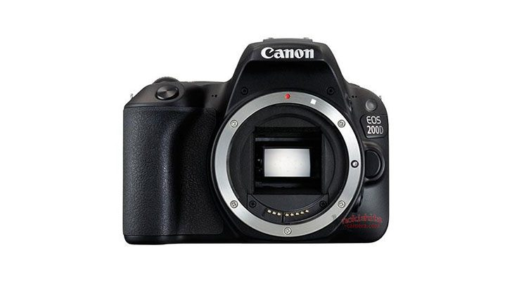 This is the Canon EOS Rebel SL2/200D/X8