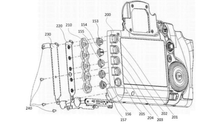 Patent: The Next Prosumer DSLR to Get Illuminated Buttons?