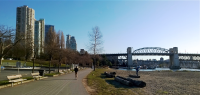 When all you have is a Toy Camera - A Nice Day in Vancouver is This at the Burrard Street Bridge.png