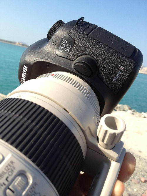Firmware 1.2.1 for the 5D Mark III in the Wild