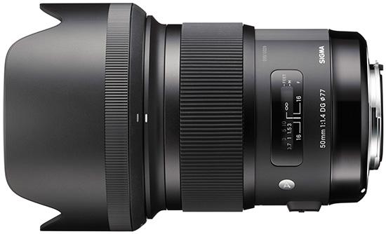 More Preorder Options for Sigma 50mm f/1.4 DG HSM Art Lens