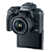 EOSM HR EOS M5 EFM15 3Q Backlcd hiRes 168x168 - Canon Introduces the EOS M5 Digital Camera and its First EF-M High Power Zoom Lens