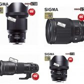 sigmalenses 168x168 - New Sigma Lenses Coming Today