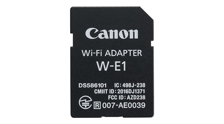 Stock Notice: Canon W-E1 Wifi Adaptor at B&H Photo