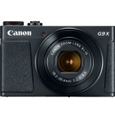G9X MarkII black front hiRes 168x168 - Canon Announces PowerShot G9 X Mark II, G7 X Mark II Video Creator Kit & VIXIA HF-R Series