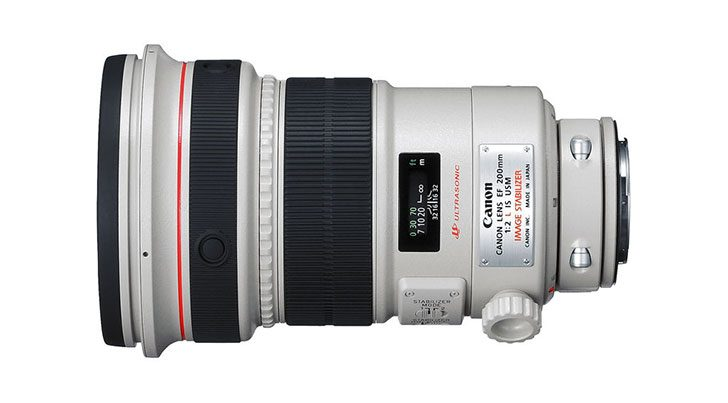 Deal: Refurbished Canon EF 200mm f/2L IS $4559
