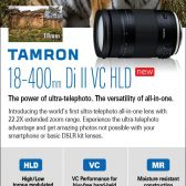 unnamed 1 168x168 - Tamron Announces 18-400mm All-In-One™ Zoom..... Sort Of
