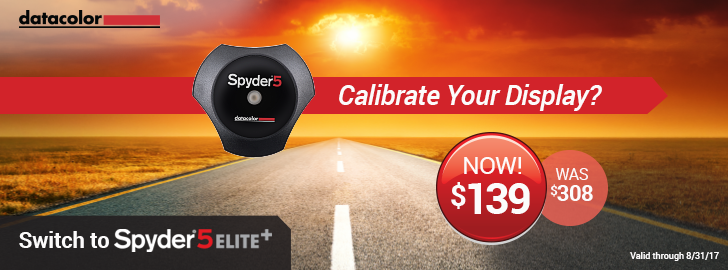 Switch to Spyder5ELITE+ from ANY brand for $139 today!