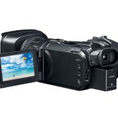 vixia gx10 evfopen hiRes 168x168 - Canon Launches The XF405, XF400 and VIXIA GX10