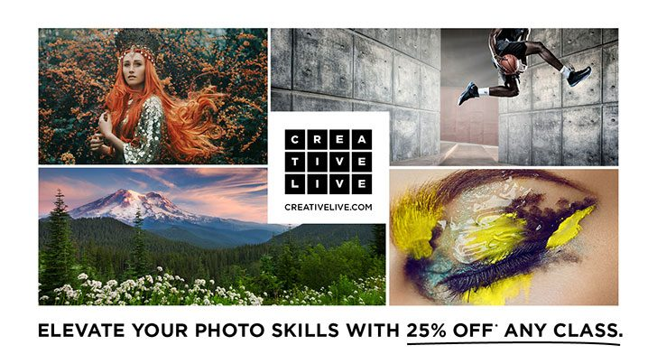CreativeLive's Holiday Sale is Here. Save on Canon Classes Now!