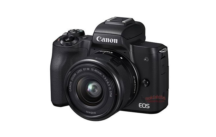Leaked: Canon EOS M50 Image & Specifications