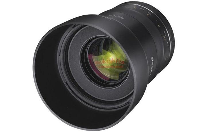 Leaked: Samyang XP 50mm f/1.2 EF for EF Mount