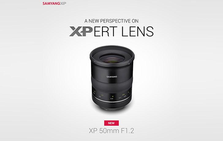 Samyang Optics Launches the Premium Photo Lens- XP 50mm F1.2