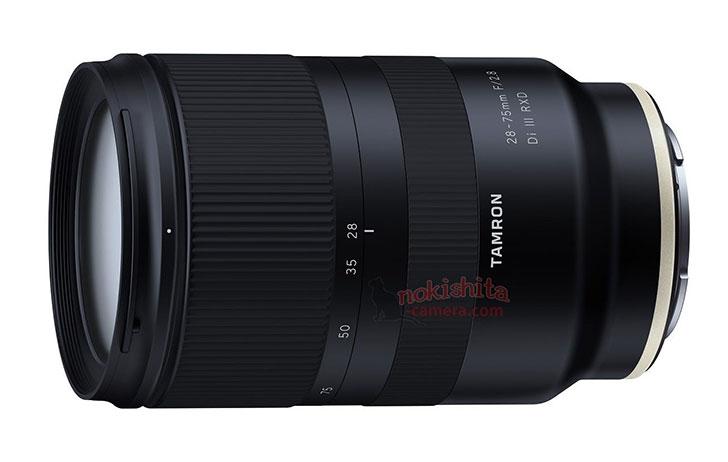 Leaked: Tamron 28-75mm f/2.8 Di III RXD