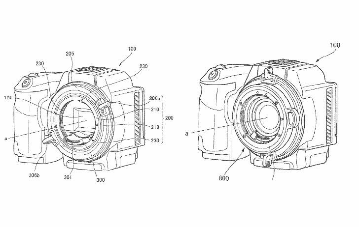 Patent:  Lens Mount Adaptor For Different Flange Distances