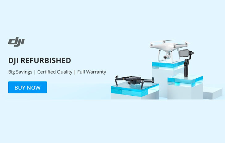 Deal: Save on Refurbished Drones & Accessories Directly from the DJI
