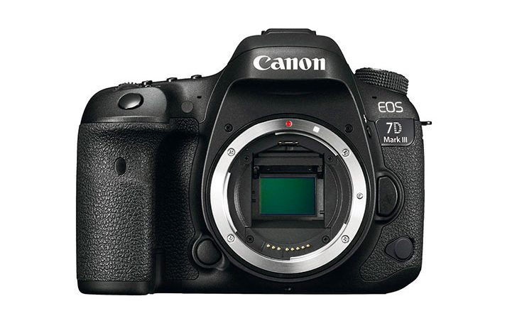 Canon EOS 7D Mark II listed as discontinued, but no reason for excitement