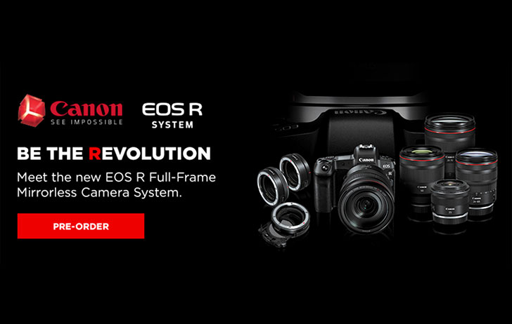Preorder: You can now preorder the Canon EOS R system and other new Canon gear