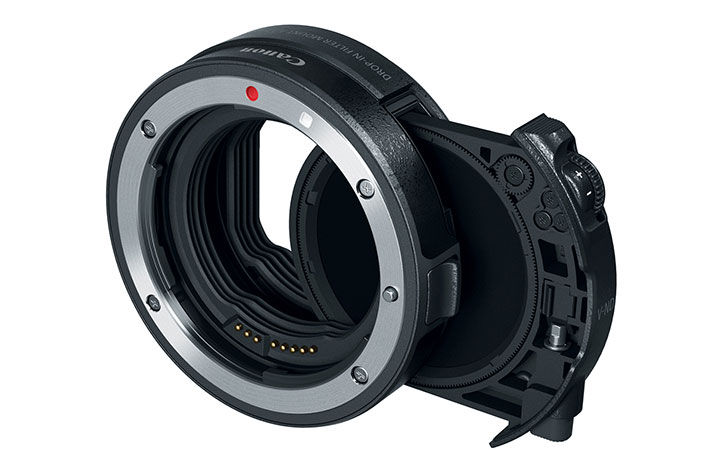 Aurora Aperture announces development of filters for the Canon EF-to-RF adapters