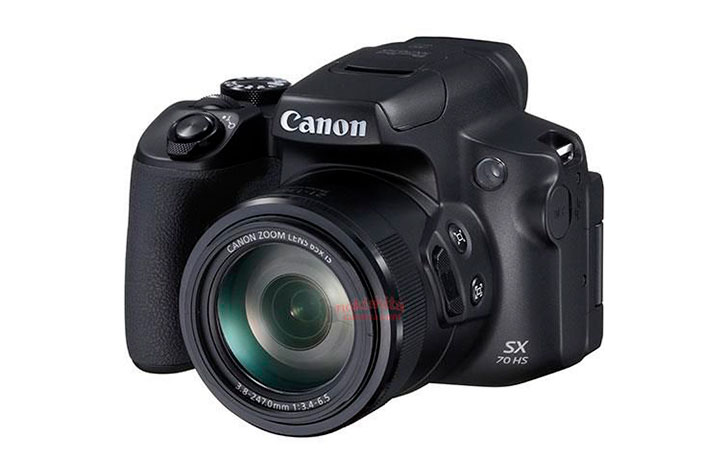 Canon PowerShot SX70 HS Images and Specifications