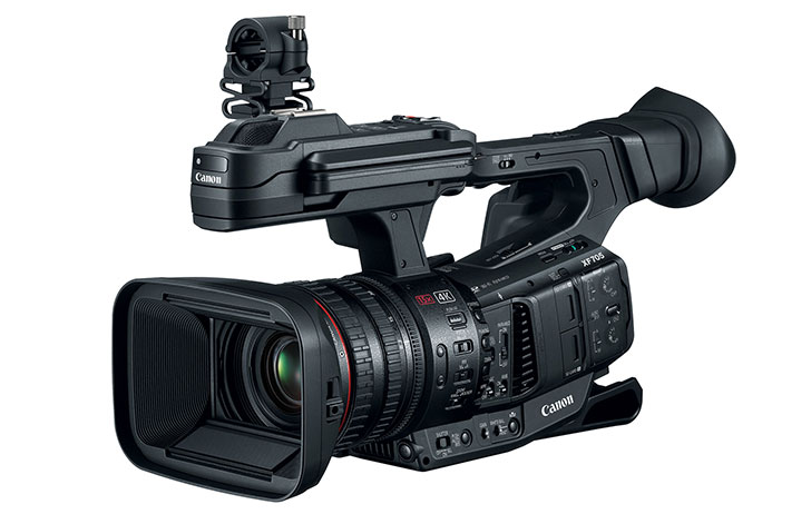 Canon Launches New Flagship XF705 Professional Camcorder Featuring 4K Video Recording at 60P/4:2:2/10-Bit