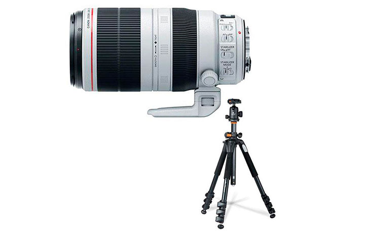 Black Friday: Canon EF 100-400mm f/4.5-5.6L IS II w/Tripod $1799 (Reg $2199)
