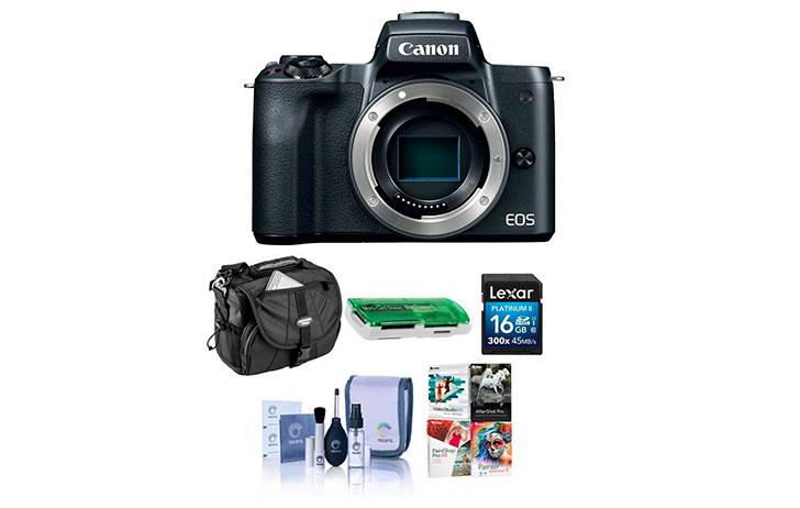 Black Friday: Canon EOS M5, EOS M6, EOS M50, EOS M100 Bundles with big savings