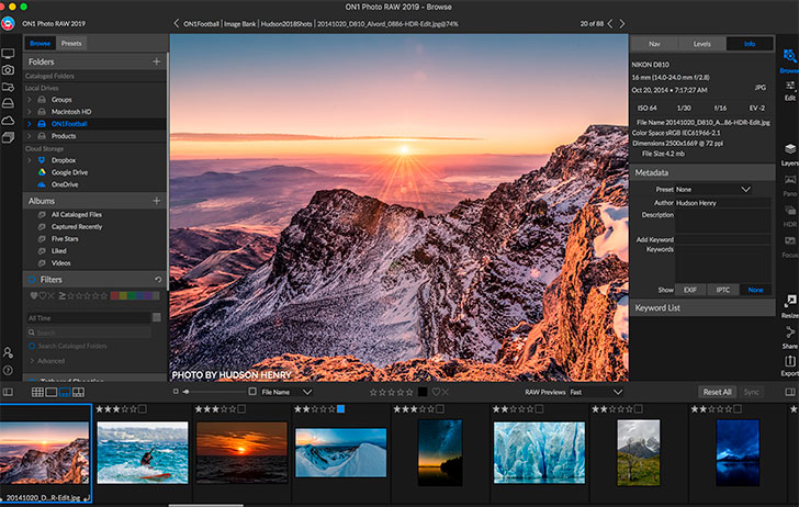 ON1 Photo RAW 2019 – An All-New Photo Editing Experience Now Available