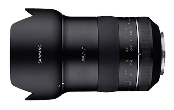 Samyang to announce XP 35mm f/1.2 soon