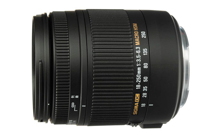 Ended: Sigma 18-250mm f/3.5-6.3 DC Macro OS $269 (Reg $549)