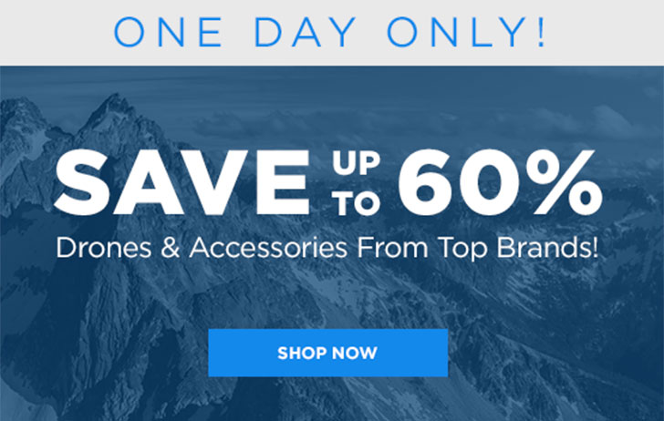 Ended: Save up to 60% on drones and accessories at Adorama