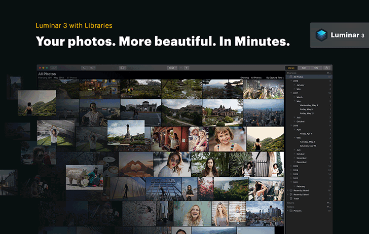 Skylum Software announces Luminar 3 with Libraries, coming December 18, preorder now