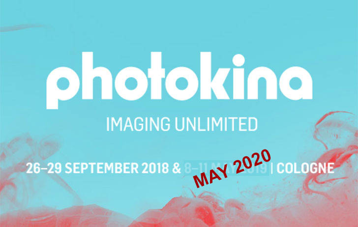 Photokina 2019 scheduled for May has been cancelled, show to return annually May 2020