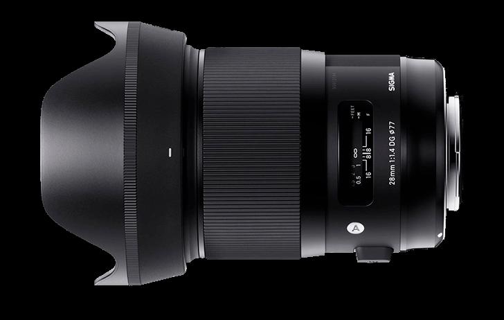 Preorder: Sigma 28mm f/1.4 DG HSM