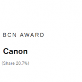 20083bff27ed02d7c3ecd0a9549eb361 168x168 - Canon #1 in Japanese market share for both DSLR and mirrorless in 2018