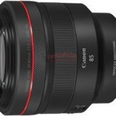 RF85mm 168x168 - Canon to announce at least 6 new RF lenses next week