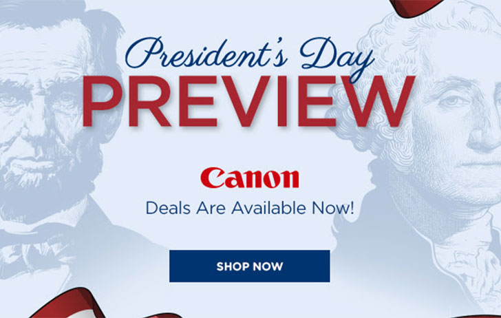President's Day deals are now live at Adorama