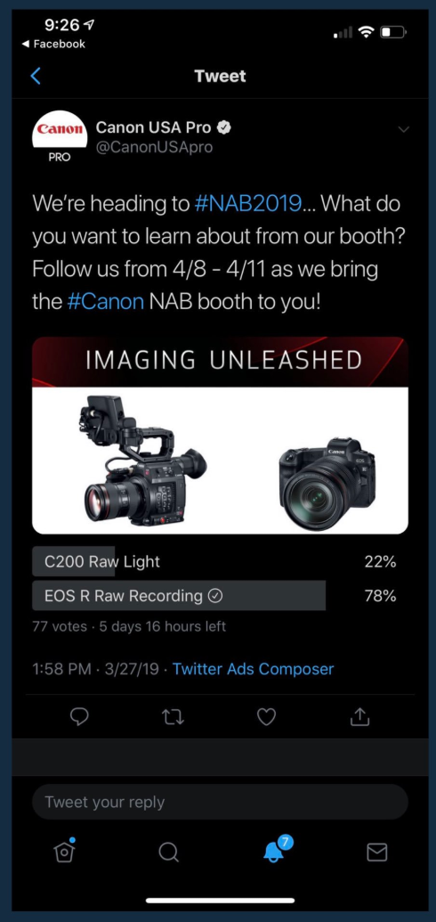 So what has become of the rumored EOS R and C200 video