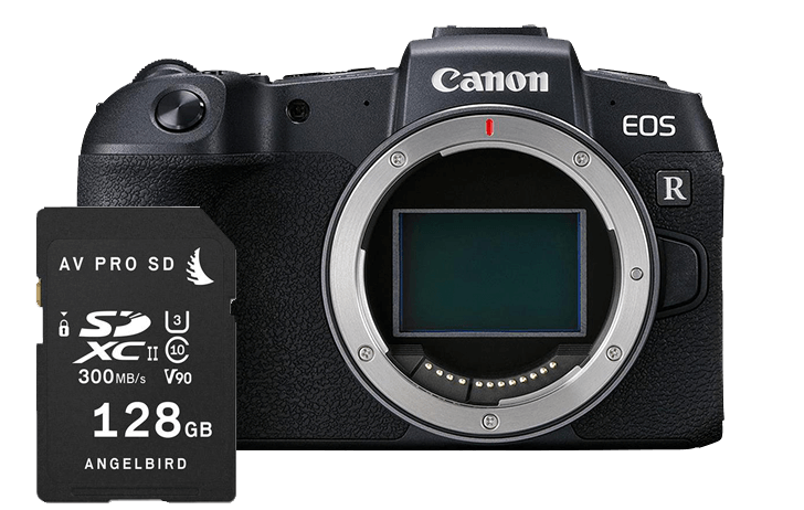 The fastest memory cards for your Canon EOS RP
